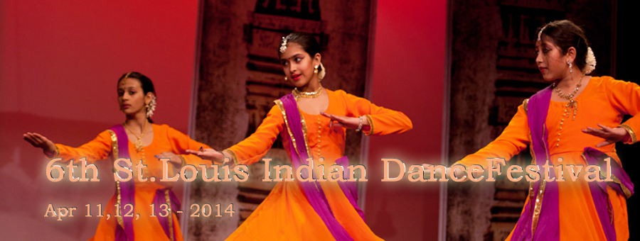 5th St. Louis Indian Dance Festival - April 19, 20 and 21st 2013