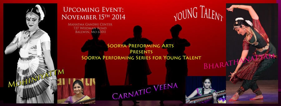 Soorya Performing Series - Young Talent - Nov 15 2014